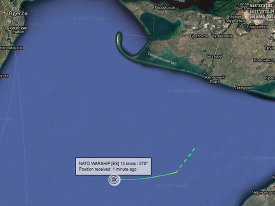 Натовские корабли маневрируют у месторождения Голицыно, обеспечивающего Крым газом