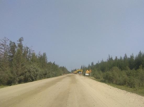 В Якутии восстановили участок федеральной дороги, размытый дождями