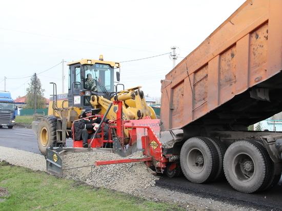 В Бийске завершают второй этап реализации программы «Безопасные и качественные автодороги»