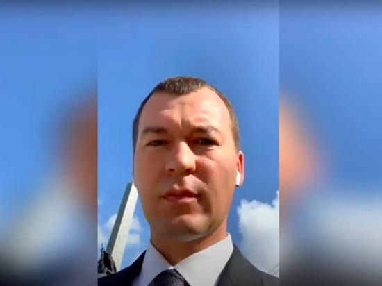 Для этого предыдущий глава региона Сергей Фургал должен «оправдаться в суде»