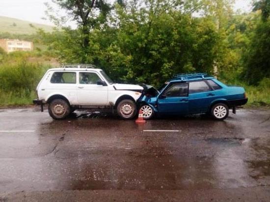 В Абакане погибла в ДТП пожилая пассажирка