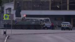 Штурм автобуса с заложниками в Луцке сняли на видео