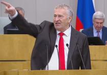 Жириновский эмоционально выступил перед Мишустиным по поводу Фургала