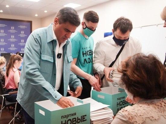 Партия «Новые люди» сдала 50 тысяч подписей за выдвижение своих кандидатов в Новосибирске на сентябрьские выборы