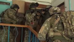 ФСБ опубликовала видео перестрелки с боевиками в Кабардино-Балкарии