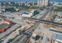 В Тюмени готовятся открыть развязку на Мельникайте