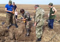 Донские поисковики нашли останки 15 бойцов времен Великой Отечественной войны