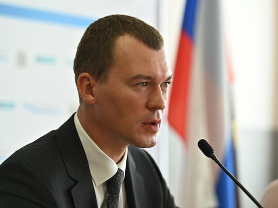 Дегтярев отказался общаться с митингующими