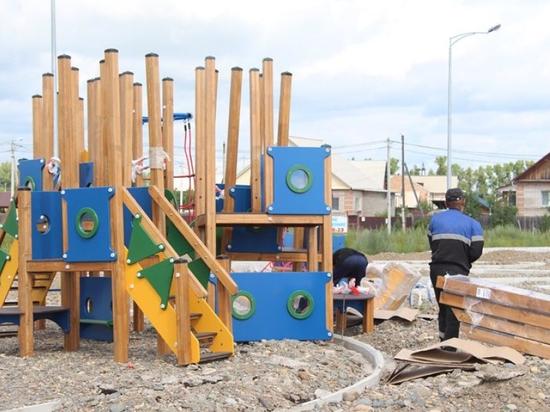 На улице Рублёва в Абакане появятся тренажёры, детская площадка и часы-улитка