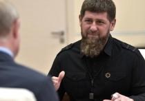Президент Владимир Путин присвоил главе Чечни Рамзану Кадырову звание генерал-майора