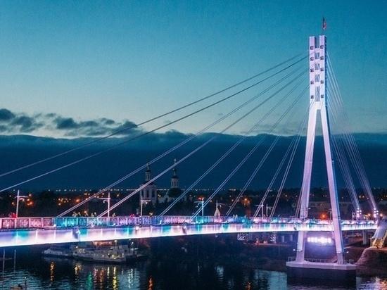 Тюменский мост подсветят всеми цветами радуги