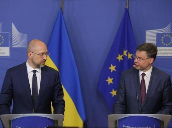 Киев получит кредит от ЕС в размере 1,2 млрд евро