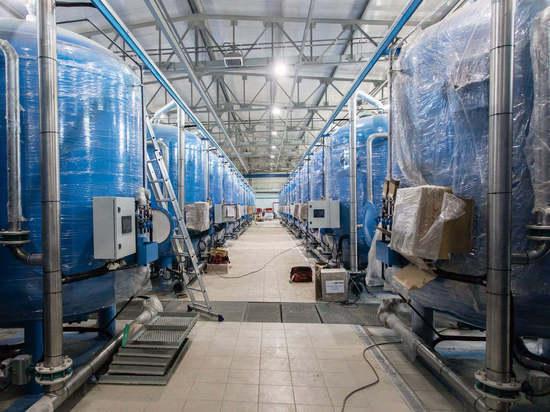 В Лянторе строят водоочистные сооружения со значительным опережением срока