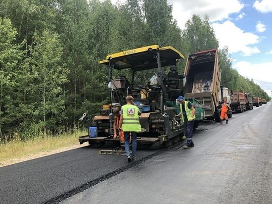 В Марий Эл продолжается ремонт автодороги «Звенигово – Помары»