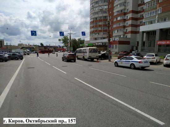 В Кирове трёхлетний ребёнок пострадал в автобусе