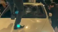 В Москве подрались уроженцы Азербайджана и Армении: громили машины