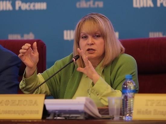 """Памфилова назвала трехдневное голосование """"требованием времени"""""""