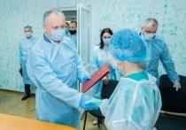 Президент Молдовы посетил медучреждения Страшенского района