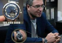 Мэр Бельц Усатый стал владельцем часов стоимостью в 185 тыс. евро