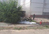 Пожар на Сакмарской ТЭЦ потушили