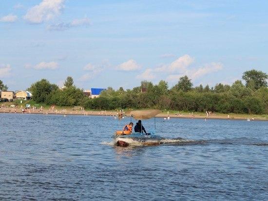 Спасатели Йошкар-Олы продолжают патрулировать на реке Малая Кокшага