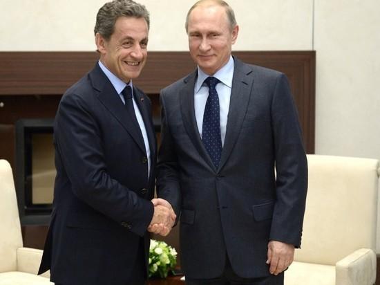 Саркози назвал Путина человеком, который всегда держит слово