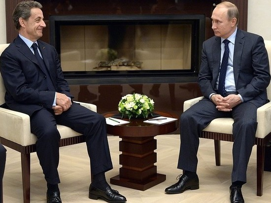 Саркози и Путин при первой встрече не поделили шоколадку