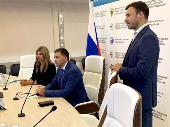 Глава Липецка обсудила вопросы экологии с главой Минприроды