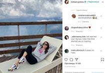 Елена Исинбаева показала, что выбрала вместо отдыха у моря