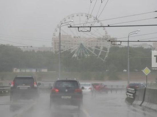 В Татарстане ожидается теплая и дождливая погода