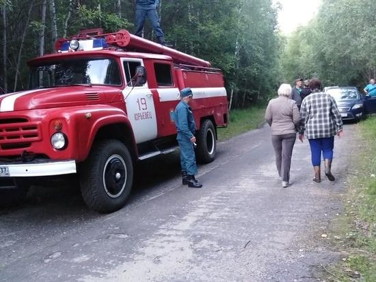 Потерявшуюся в Юрьевецком районе женщину пожарные искали несколько часов