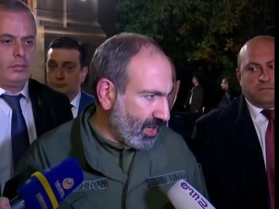 Пашинян заявил о попытках дестабилизировать ситуацию в России