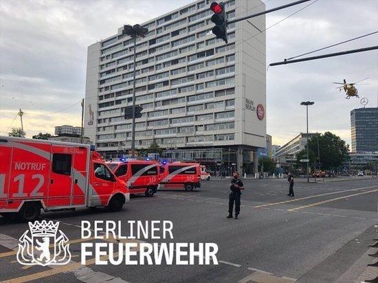 В Берлине произошла автомобильная авария с семью пострадавшими