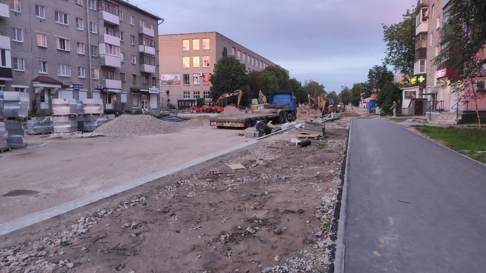 В Пскове снесли здание магазина сантехники на Яна Фабрициуса , фото-3