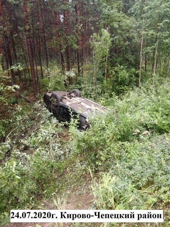 В Кирово-Чепецком районе 4 человека пострадали в ДТП