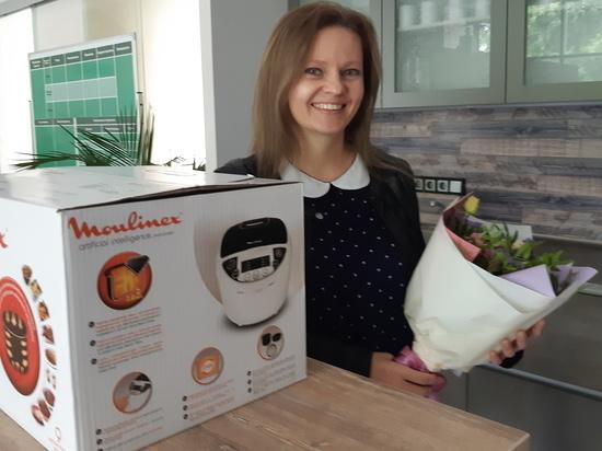 Трое победителей розыгрыша от «Уралэнергосбыта» получили в подарок бытовую технику