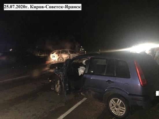 В Кировской области пьяная водитель устроила аварию с пострадавшими