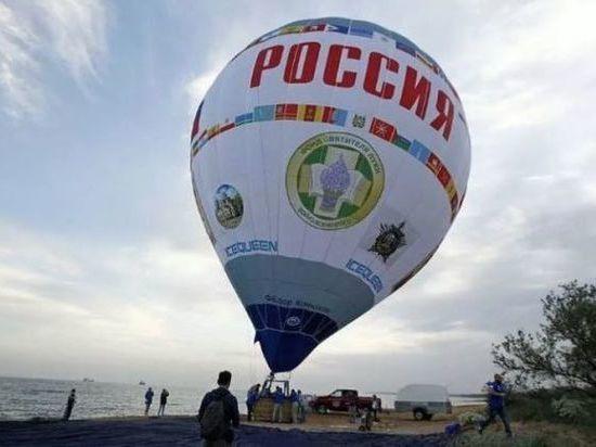 Самы большой аэростат приземлится в Дагестане