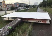 Разрушительная буря может повториться 28 июля в Забайкалье