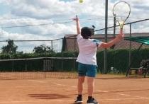 Юные теннисисты соревновались в мастерстве в Серпухове