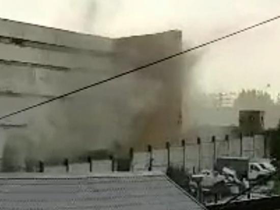 Арестантки надышались дымом