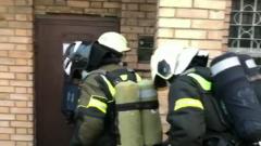 Пожар в женском СИЗО ликвидировали: видео с места ЧП