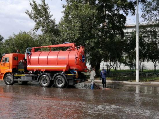 В Абакане появятся две локальные ливневые канализации
