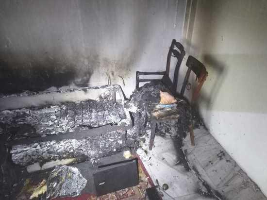 В Курске при пожаре погиб мужчина