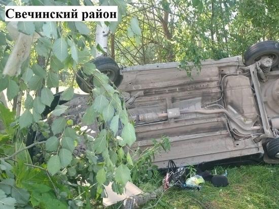 В Свечинском районе в аварии пострадала 15-летняя девочка