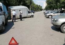 В Рязани на Первомайском проспекте  под «Газелью» провалился асфальт