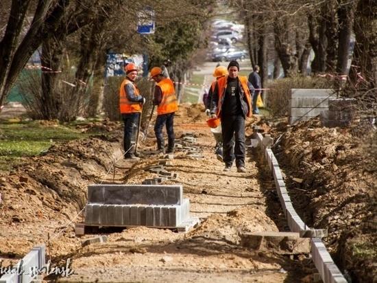 Какие тротуары отремонтируют и где построят в Смоленске в этом году