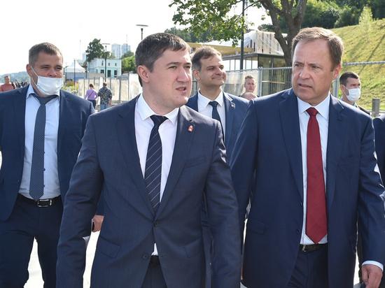 Полпред президента в ПФО оценил ход реконструкции набережной в Перми