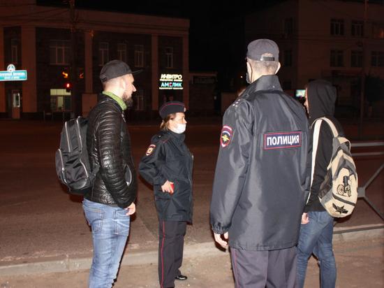 В Йошкар-Оле полицейские провели акцию «Дети в ночном городе»