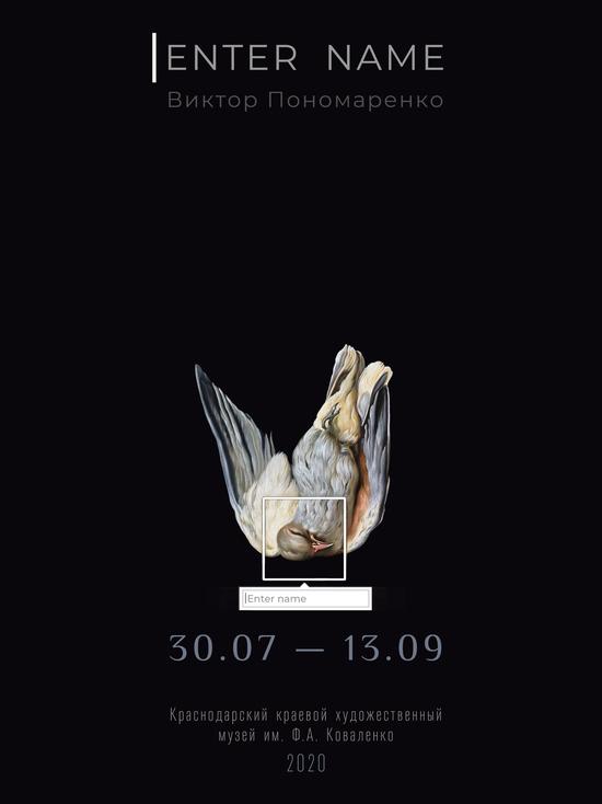 В Краснодаре откроется выставка Enter name